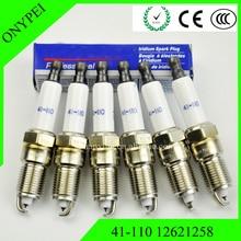 6x Iridium Spark Plug 41 110 For Cadillac Chevrolet GMC Hummer 41-110 12621258 41110