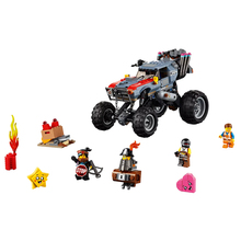 New Bricks Toys Emmet and Lucys Escape Buggy Compatible Legoingly Movies 2 70829 Building Blocks for Children Christmas Gift