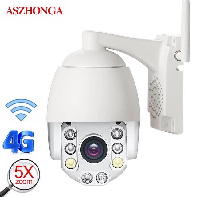 Imx307 2MP 3G 4G Sim Ptz Ip Camera 1080P Hd Ir Nachtzicht Speed Dome Wifi Beveiliging camera Outdoor Waterdicht Cctv Surveillance