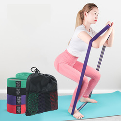 Long Resistance Bands Elastic Bands For Pullup Assist Stretching Training Booty Hip workout Home Yoga Gym Fitness Equipment