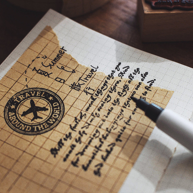 Retro kraft papierowa taśma washi 70mm linii siatki puste taśma samoprzylepna z wzorami DIY podstawowe naklejki dekoracyjne notatnik F191