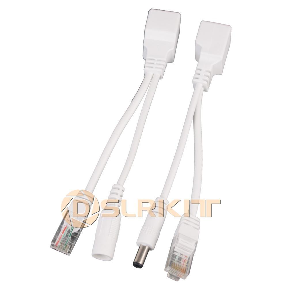 DSLRKIT Passive Power Over Ethernet PoE Injector + Splitter Kit