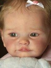 Набор для творчества RBG 22 дюйма Tobiah, Детская кукла-младенец, Реалистичная виниловая Неокрашенная НЕОБРАБОТАННАЯ игрушка, детали, подарок дл...
