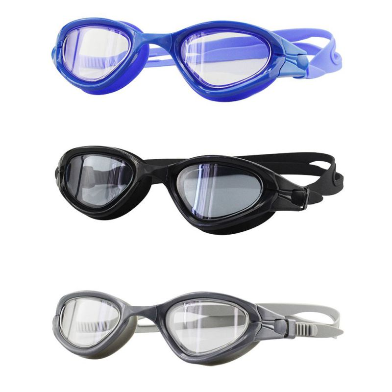 Professional Electroplate Swimming Glasses Anti Fog Men Women UV Protection Swim Goggles Waterproof Swimming Eyewear Glasses