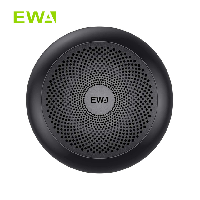 EWA A110Mini Wireless Bluetooth Speaker Portable Built in Battery Loud Sound Strong Bass Metal Covering For Meditation