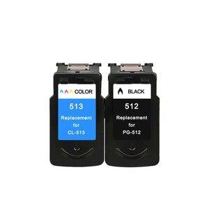 Image 5 - YLC Compatibile PG512 CL513 per Canon pg 512 cl 513 cartuccia di inchiostro per Pixma MP230 MP250 MP240 MP270 MP480 MX350 IP2700 stampante
