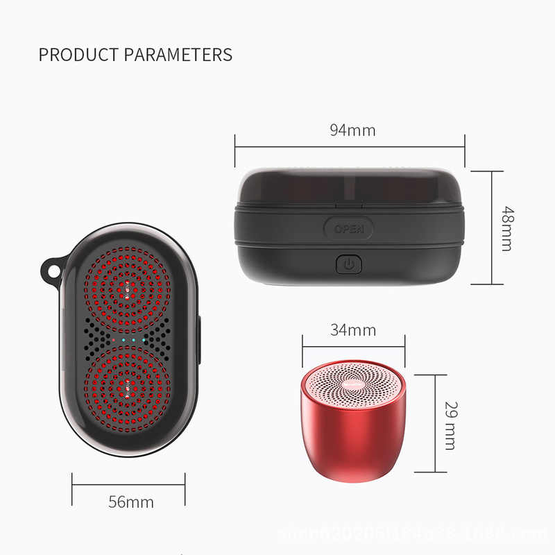 2019 Newest 2pcs Mini Portable TWS Bluetooth Speaker 2019 Japan Best  Sound/Bass Quality for Phone Computer Music Outdoor MP3