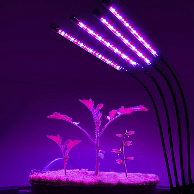 Grow Light Bulb Indoor Plant - Grow Light For Indoor Plants - Led Grow Light - Plant Lights With Clip - Growing Lamp For Plants