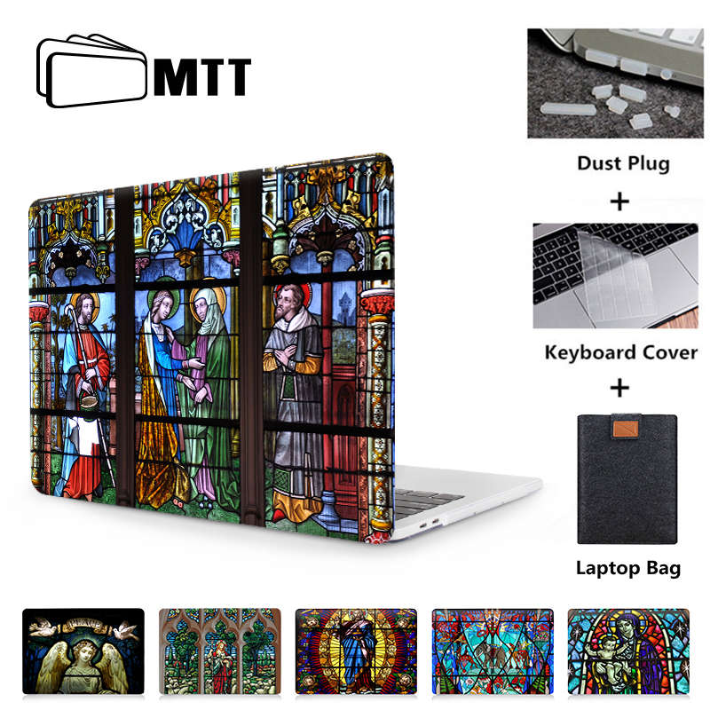 MTT Laptop Case For Mac Book Air Pro Retina 11 12 13 15 Inch Funda Cover For Macbook Pro 13.3 15.4 Church Laptop Bag Sleeve