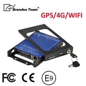 Image 1 - GPS 4G WIFI 4 Kanaals Auto DVR H.265/H.264 Sd kaart DVR Recorder met G sensor voor auto Taxi Schoolbus Monitoring