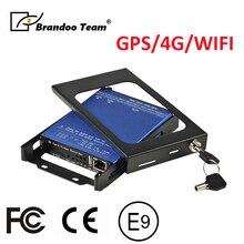 GPS 4G WIFI 4 Kanal araba dvrı H.265/H.264 SD Kart DVR Kaydedici g sensörü ile Araba için taksi Okul Otobüsü Izleme