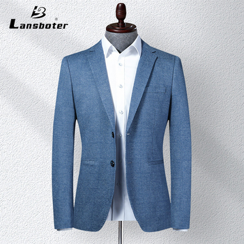 Spring 2020 new high-end men business suit fashion European and American style young men suit casual wear Men's dress