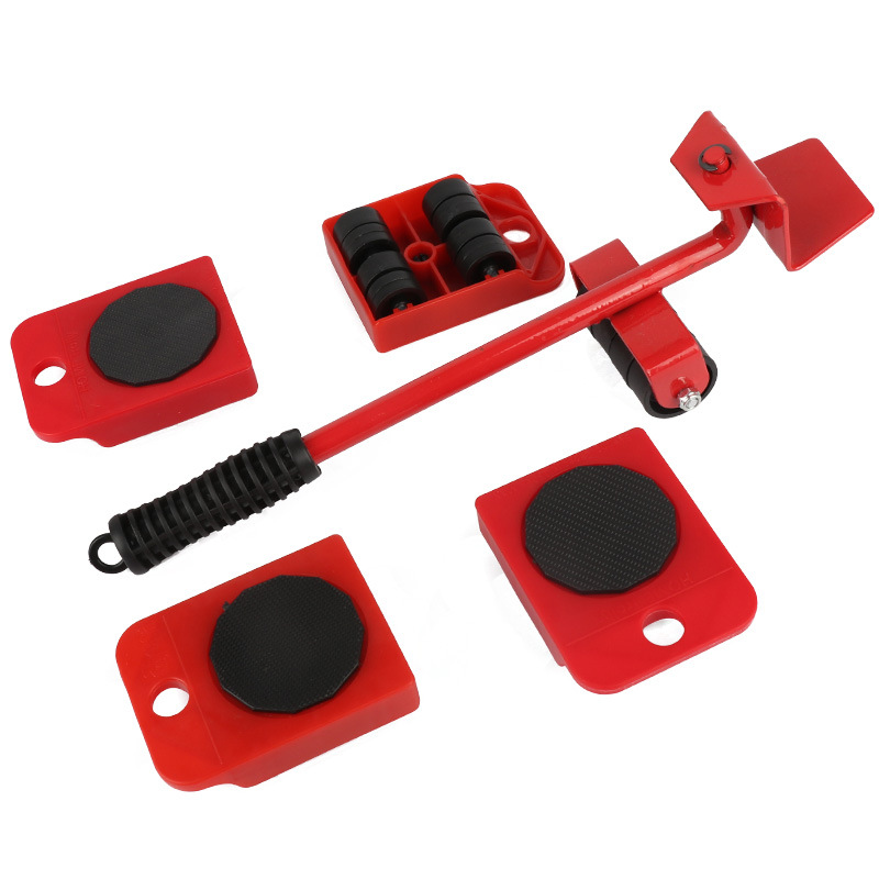 Купить с кэшбэком Heavy mover home multi-function manual combination hardware tool set furniture mover five-piece artifact