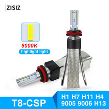 Automobile Turbo Car LED Headlight Bulb H1 H4 H7 H11 9005 9006 HB3 HB4 LED Light Lamp 80W 12V 6000K 9600LM Auto Headlamp Kit cooleeon auto headlamp led light h1 h4 h7 car headlight bulbs h11 9005 9006 automotive led lamp kit 12v 24v 80w 9600lm cree leds