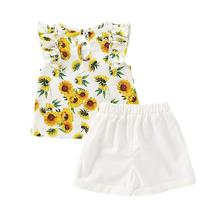 2020 New Arrival Summer Women Girls Matching Outfits Slim Short Dress Shorts Parent-child Outfit Clothing Set