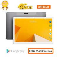 CARBAYTA Tablet PC 10.1 cala sieć 4G Android 8.0 8GB RAM 256GB ROM MT6797 X20 10 Deca Core 2560*1600 8000mAh GPS Dual Wifi