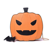 Новые сумки через плечо для женщин 2020 Хэллоуин Тыква фонарь