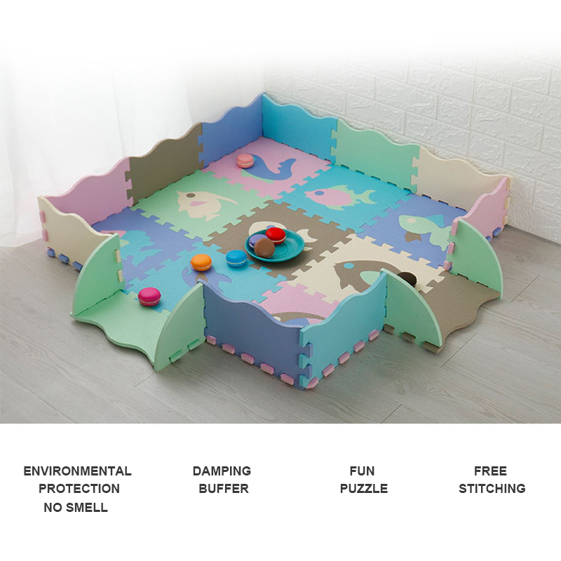 25pcs/Set Baby Play Mat EVA Foam Puzzle Toys Kids Floor Puzzles Child Surface Activity Crawled Play Pad Folding Mat For Children