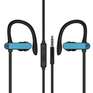1pcs 2019 NEW Ear Hook Stereo Earphone Headset Universal Anti-drop Wired Sport Headphone dropshipping