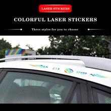 Светоотражающая наклейка для автомобиля Наклейка виниловая лампа