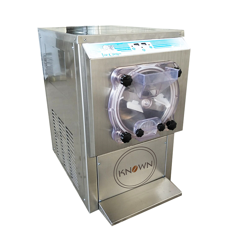 18L Commercial Desktop Hard Ice Cream Machine With R22 Refrigerant