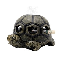 Turtle Shape Cigar Ash Tray for Indoor Outdoor Home Office and Car Ashtray Smokeless cigar ashtry