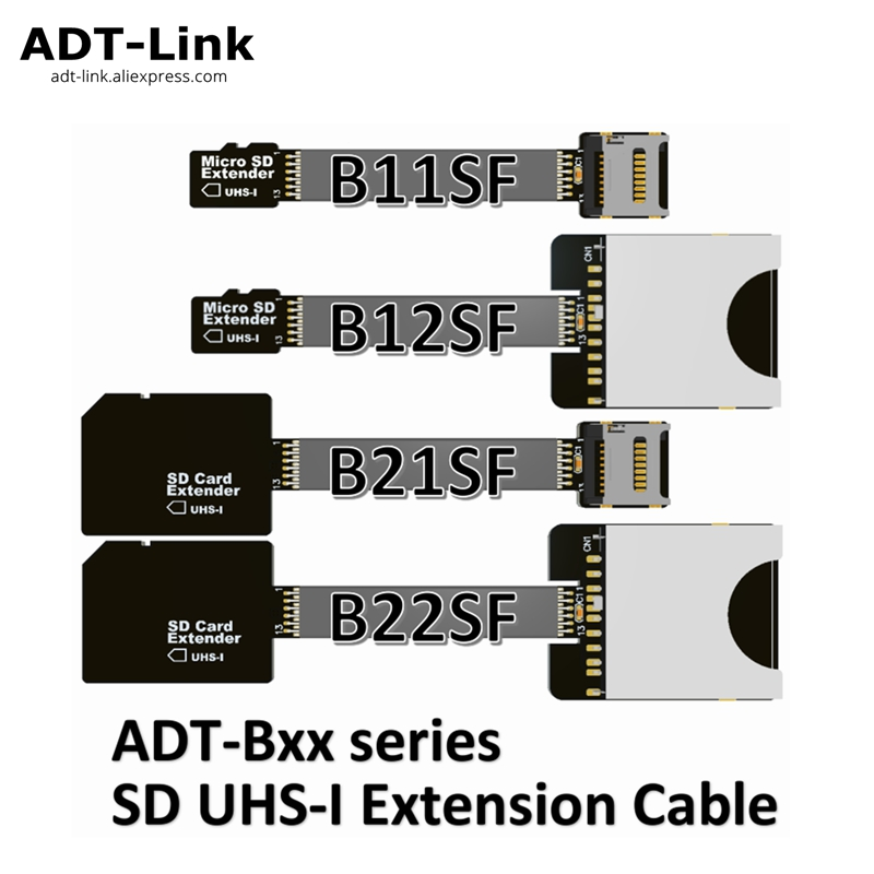 MicroSD TF Extension Cable Micro SD Extender Supports SDHC SDXC UHS-I Full-speed Stable No FPC Card Reading Test Line