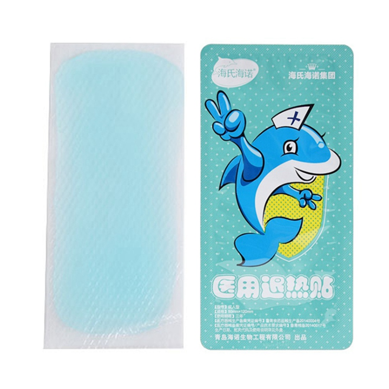 2 Pieces/Box Cooling Gel Patch Body Massage For Relief Migraine Headache Fever Muscle Ache Sprains Great For Children