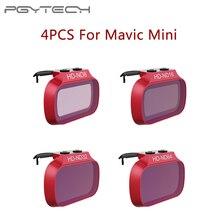4 шт. фильтры для объектива ND для DJI Mavic Mini /Mini 2 ND 8 16 32 64 PL набор фильтров для DJI Mavic Mini ND8 ND16 ND32 ND64 PL