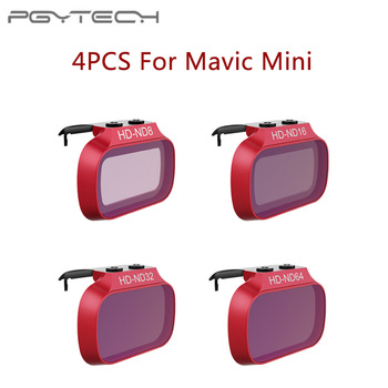 Φίλτρα φακού 4pcs ND για DJI Mavic Mini / Mini 2 ND 8 16 32 64 PL Σετ φίλτρων για DJI Mavic Mini ND8 ND16 ND32 ND64 PL