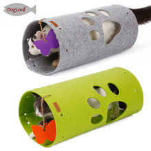 DIY Stitching for Cat Katten Interactive Pet ToyvPet Tunnel Toys Long 45cm Outdoor Cats Training Toy Foldabe