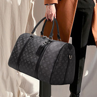 Luxus 2021 Neue Große-Kapazität Reisetasche Druck Seesack Große Handtasche Mode Fitness Tasche Lagerung Tasche Wasserdichte Tasche