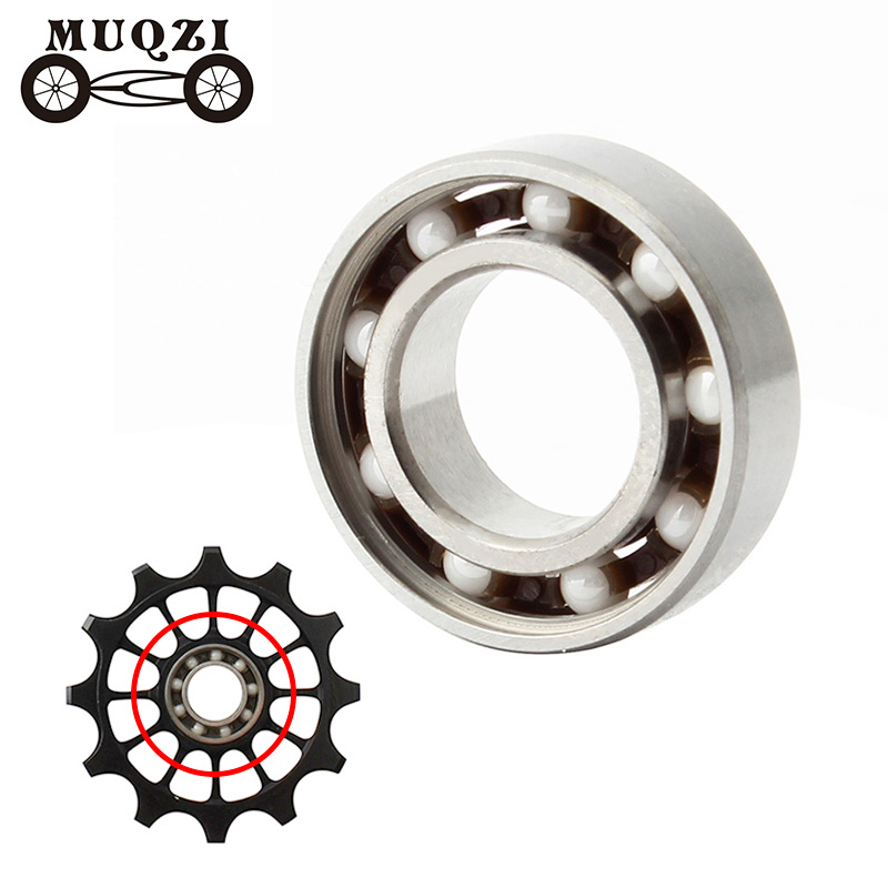 MUQZI Mountain Bike Foldable Bicycle Guide Wheel After Dialing Bearing Mountain Bike  Peilin 9 * 17 * 5mm Bearing