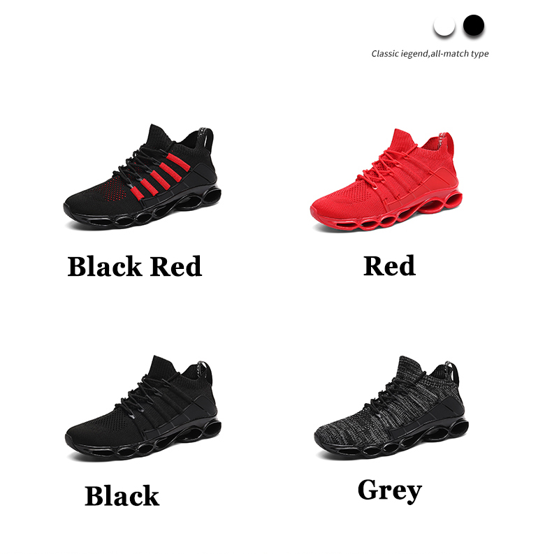 Hf679b6f699d84aee8362b8dcb56128ffX - New Fishbone Blade Shoes Fashion Sneaker Shoes for Men Plus Size 46 Comfortable Sports Men's Red Shoes Jogging Casual Shoes 48