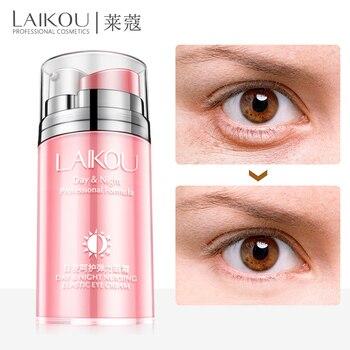 цена laikou Day Night Eyes Cream dark circles eye moisturizing cream anti-aging dry skin anti wrinkle Remove dark circles under eyes онлайн в 2017 году