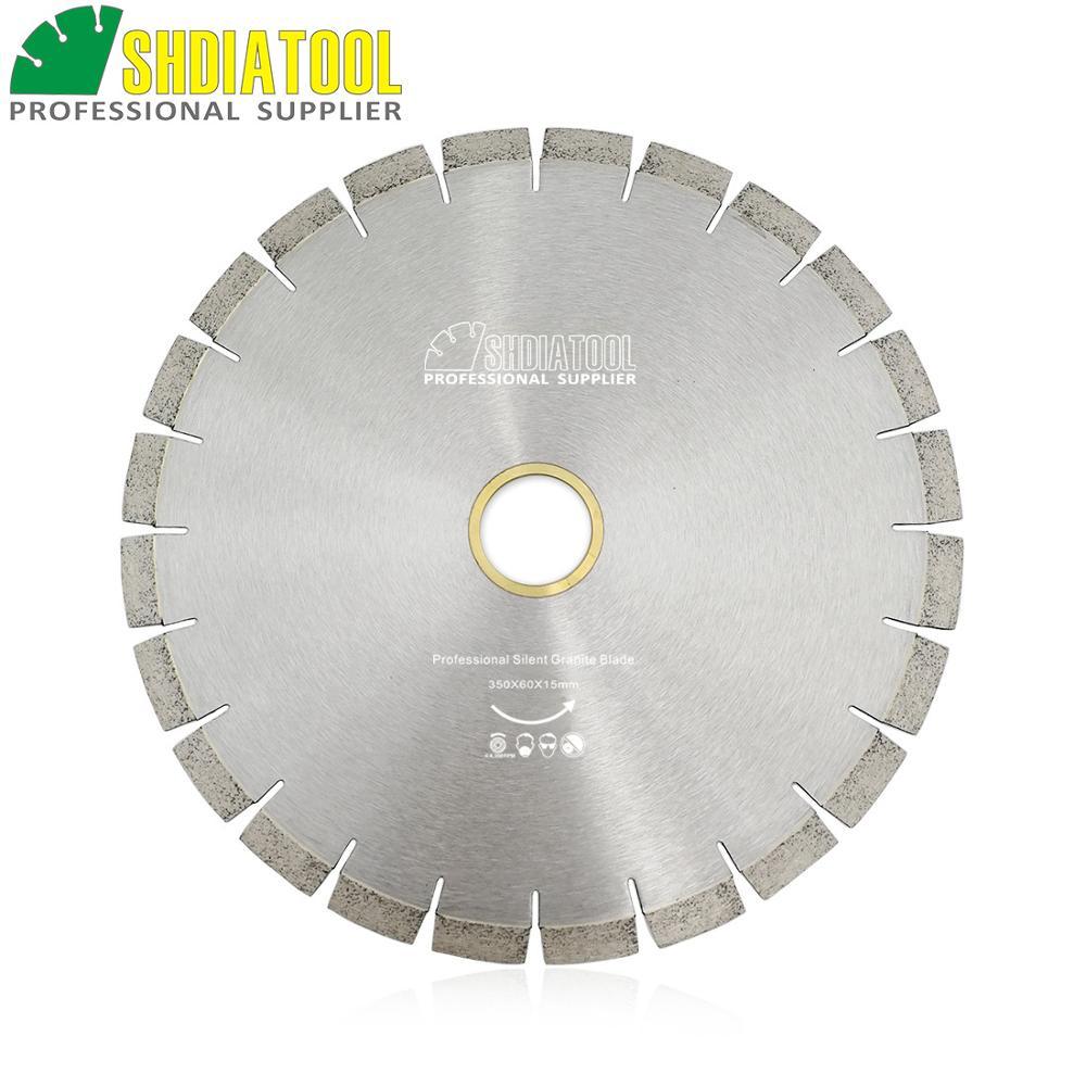 DIATOOL 1pc 350mm Vacuum Brazed Diamond Blade For All Purpose 14 Demolition Blade For Stone Iron Steel - 4