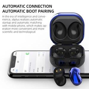 Image 3 - S6 Plus Tws słuchawki douszne z redukcją szumów bezprzewodowe słuchawki Bluetooth sportowe słuchawki douszne do Samsung Galaxy wszystkie smartfony