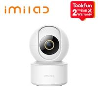 IMILAB-cámara IP de seguridad C21, 2,5 K, CCTV, 360 °, monitoreo automático de vídeo de crucero, visión nocturna, Control por voz por WiFi, Alexa Smart Home