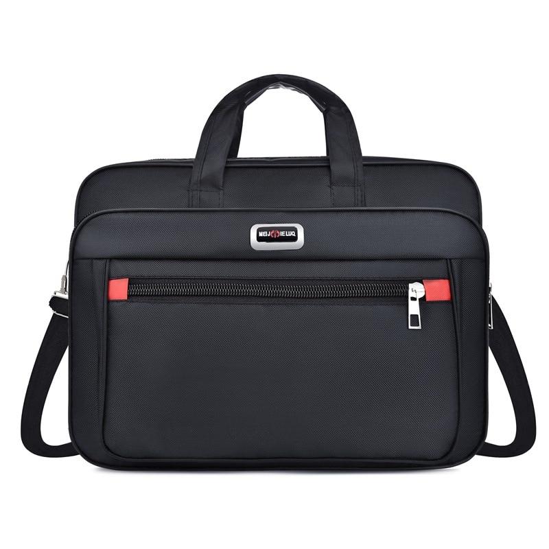 Waterproof Men Briefcases Business Computer Lawyer Handbags Portable Shoulder Laptop Office Bags Messenger Man Bag Bolso Hombre