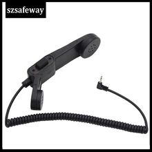 Army radio Microphone Military Handheld Speaker Mic for for Motorola 1 Pin Walkie Talkie TLKR T3 T4 T5 T6 T7 T60 T6200 COBRA