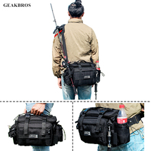 Multi-purpose Fishing Tackle Bags Outdoor Sports Waist Pack Fishing Lures
