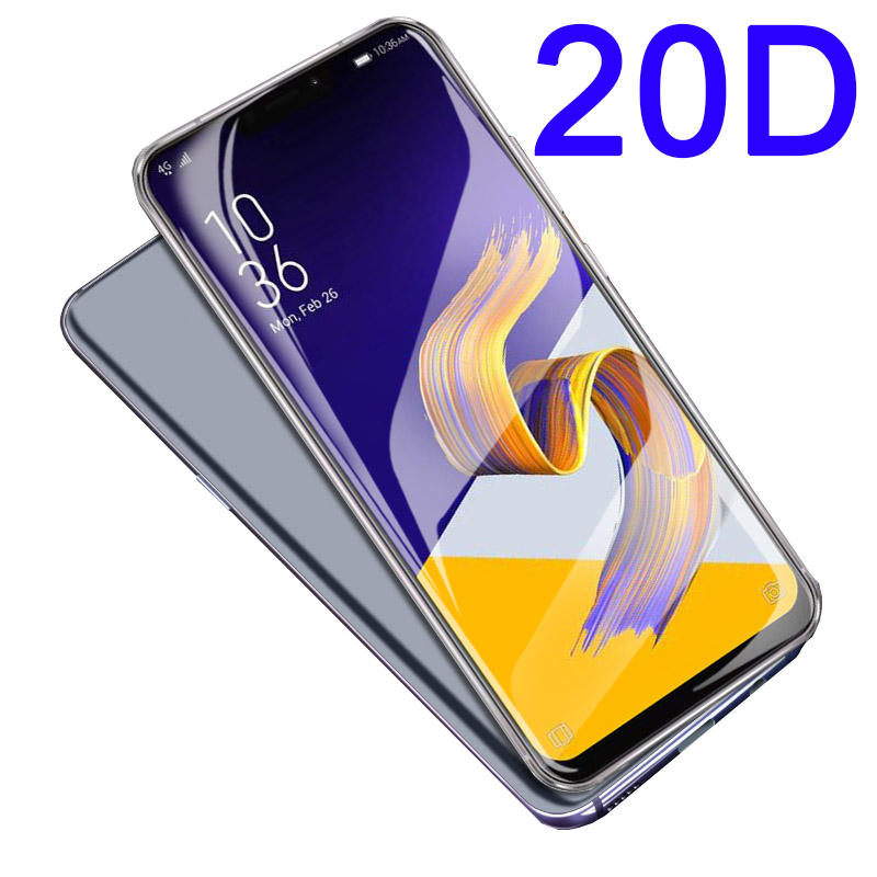 20D tempered glass for <font><b>ASUS</b></font> <font><b>Zenfone</b></font> 5z ZS620KL screen protector on for <font><b>Zenfone</b></font> 5 lite ZC600KL zenfone5 <font><b>ZE620KL</b></font> protective film image