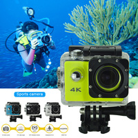2019 Drop ship Sports Action Video Camera 4K Waterproof Wide View Angle Bike Outdoor Cameras S888