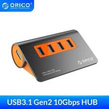 Usb хаб orico 4 порта 10 Гбит/с