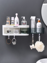 Corner Shower Shelf Bathroom Shampoo Shower Shelf Holder Kitchen Nail-Free Storage Rack Organizer Wall Mounted Rack Holder free shipping ciencia triangle black corner caddy bathroom shelf with hooks wall mounted kitchen storage with nail free glue