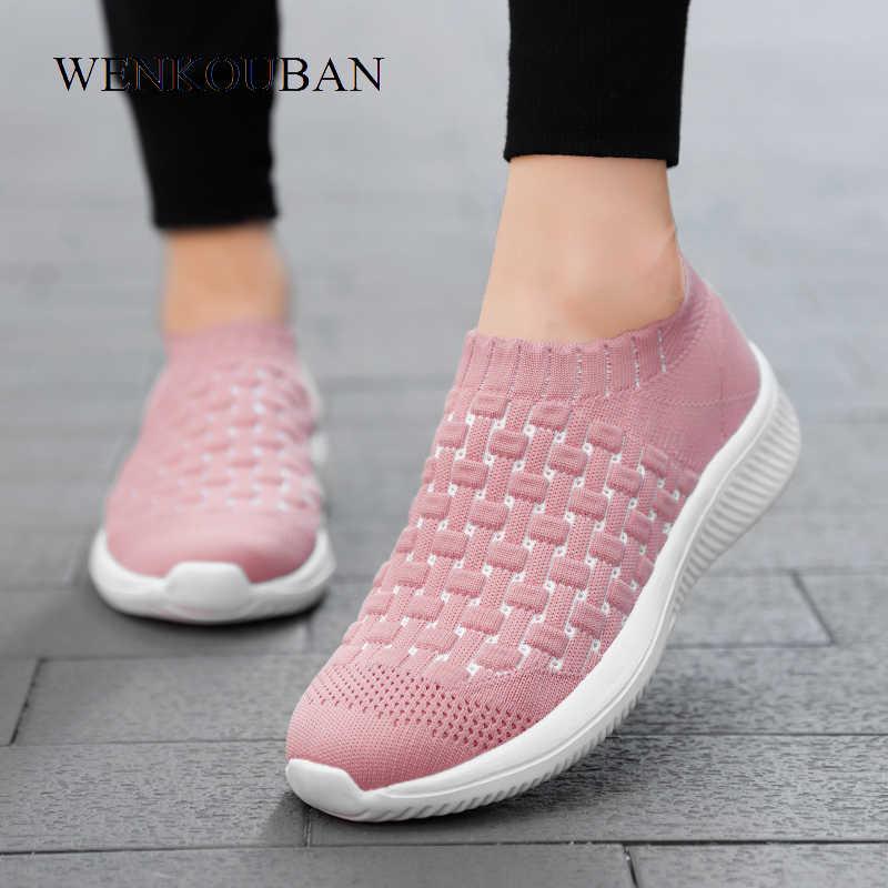 Womens Winter Sneakers Fashion Slip On