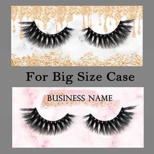 Image 5 - 200 stücke Hintergrund Papier Design und Druck für Private Logo Professional Kunden Service für Wimpern Fall