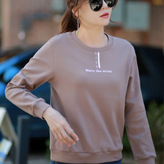 Fashion Women's New Long-sleeved Loose Base Sweater Women 2020