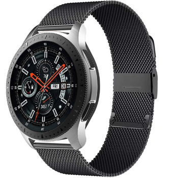 stainless steel bands for samsung galaxy watch s5 42mm 46mm watchbands gear sport s2 s3 s4 milanese loop magnetic buckle strap 20mm 22mm watch strap For Samsung Galaxy watch 46mm 42mm Active2 Active1 Gear S3 frontier Milanese Loop nato strap