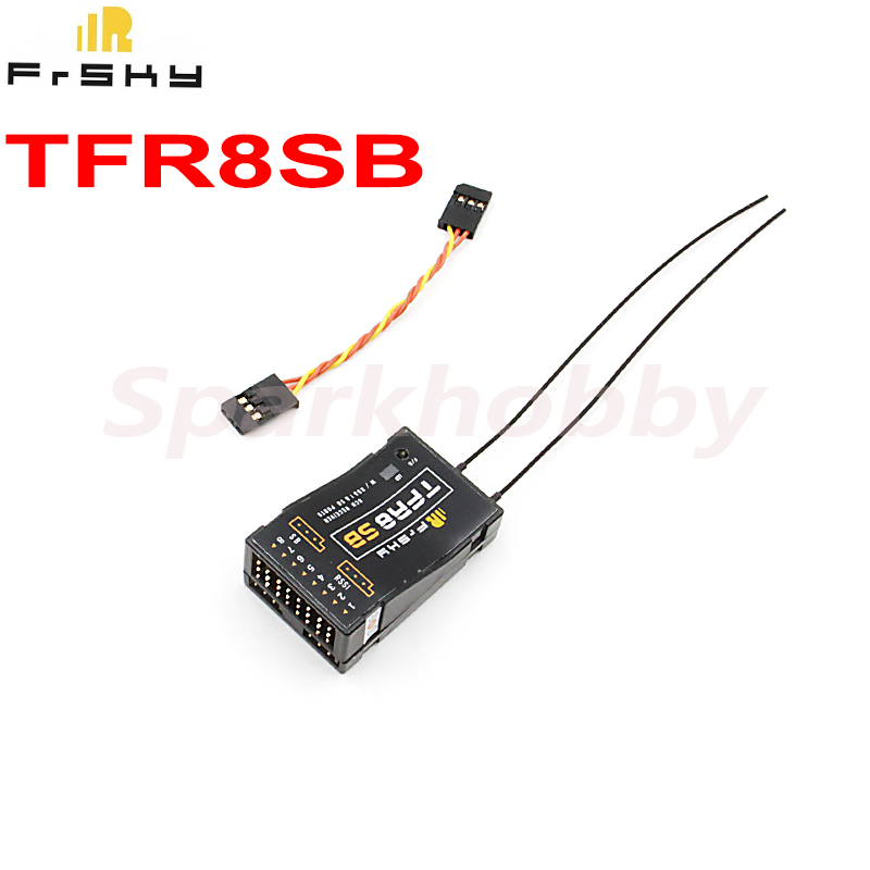 1PC Brand New FrSky TFR8SB 8CH receiver Futaba FASST compatible 2.4Ghz S.BUS Receiver with RSSI For RC Quadcopter Multicopter image
